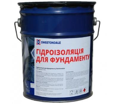 Мастика гидроизоляция для фундамента Sweetondale, 17кг