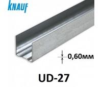 KNAUF Профиль UD-28/27/0,6, 3м (м16/б336)