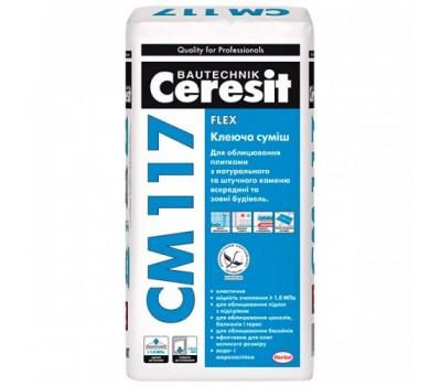 Клеящая смесь CERESIT CM-117, 25кг