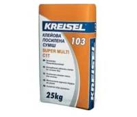 Клеящая смесь для плитки усиленная Kreisel 103, 25кг