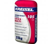 Клеящая смесь для керамогранита Kreisel 105, 25кг