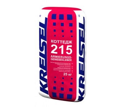 Клеящая и армирующая смесь для систем утепления фасадов Kreisel 215, 25кг