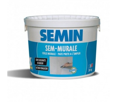 Клей готовый для стеклообоев и тканей SEMIN SEM-MURALE, 10кг (НТГ)