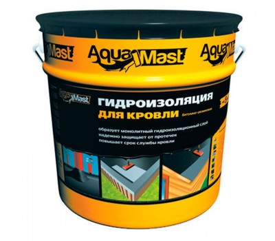 Мастика битумно-резиновая AquaMast, 18кг