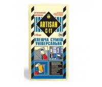 Клей для плитки для внутренних и внешних работ АРТІСАН С-11/25кг