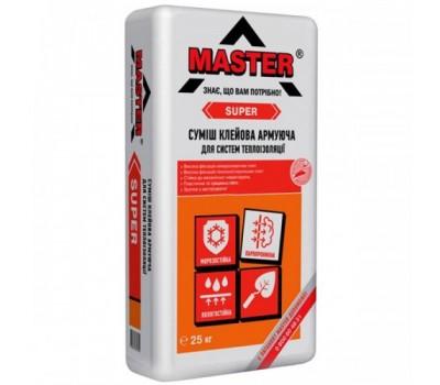 Универсальный Клей для устройства систем теплоизоляции MASTER SUPER, 25кг