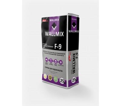 Клей для приклеивания пенополистерольных плит Wallmix F-9, 25кг ЗИМА