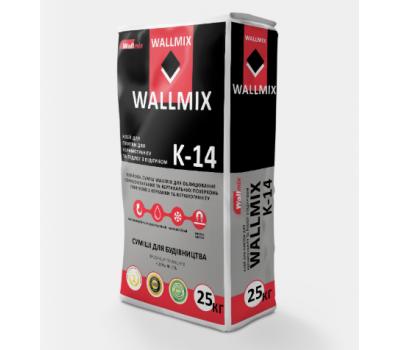 Клей для керамогранита и теплых полов Wallmix К-14, 25кг