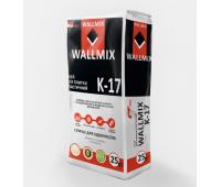 Клей для плитки эластичный Wallmix К-17, 25кг