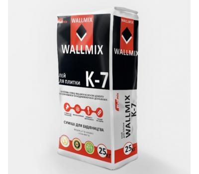 Клей для плитки Wallmix К-7, 25кг