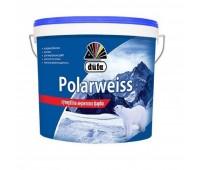 Краска супер-белая акриловая DUFA Polarweiss D605, 10л