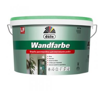 Краска дисперсионная DUFA Wandfarbe D1a, 10л