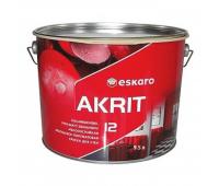 Краска Eskaro Akrit 12 белый 9,5л
