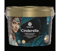 Краска Eskaro Cinderella шелковистый матовый белый 9л