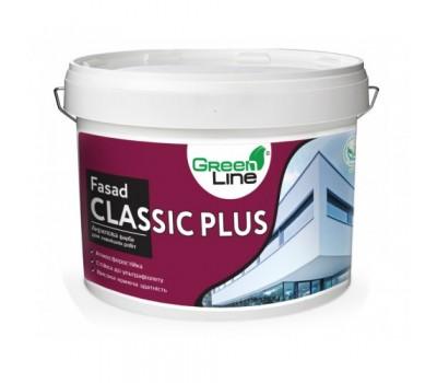 Фасадная краска GREEN LINE Fasad Classic, 10л