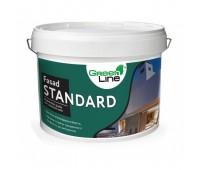 Фасадная краска GREEN LINE Fasad Standard, 10л