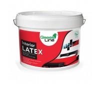 Интерьерная латексная матовая краска GREEN LINE Interior Latex, 10л