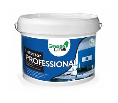 Интерьерная акриловая краска GREEN LINE Interior Professional, 10л