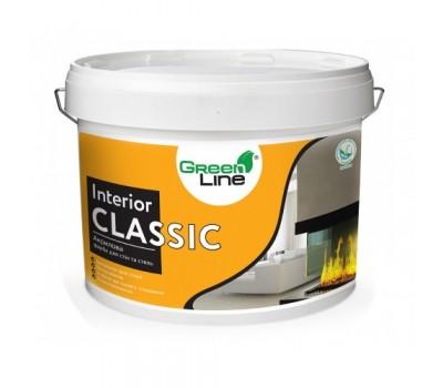 Интерьерная акриловая краска GREEN LINE Interior Classik, 10л