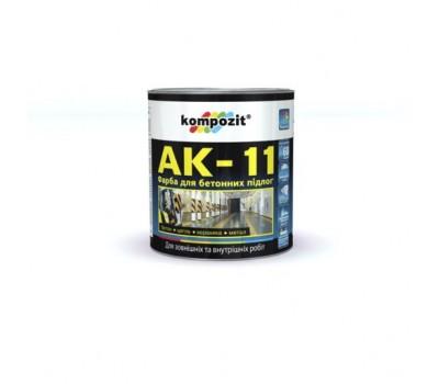 Kompozit Краска для бетонних полов АК-11 серая 10кг