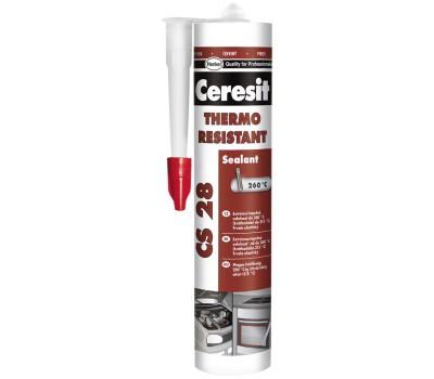CERESIT CS-28 Термостойкий герметик,300мл