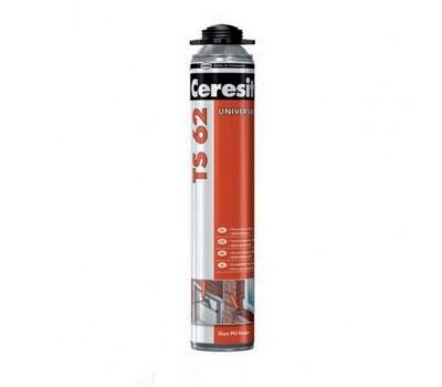 Пена монтажная CERESIT TS 62 профессиональная, 750мл