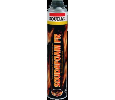 Пена монтажная противопожарная Soudafoam FR GUN, 750мл