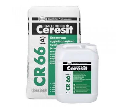 CERESIT СR-66 Эластичная гидроизоляционная смесь (2компонента)