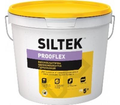 Високоєластичная однокомпонентная гидроизоляция SILTEK Prooflex VA-33/7,5кг
