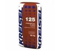 Смесь для кладки блоков с ячеистого бетона Kreisel 125 ЗИМА, 25кг