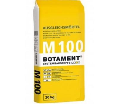 Легкий выравнивающий раствор от 3 до 50мм BOTAMENT M100, 25кг