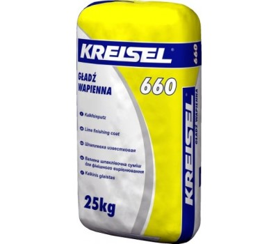 Шпаклевка известковая Kreisel 660, 25кг