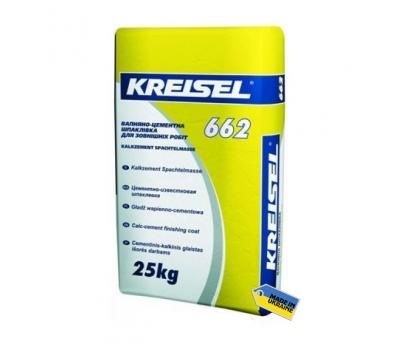 Шпаклевка известково-цементная Kreisel 662, 25кг