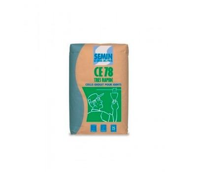 Шпаклевка гипсовая SEMIN CE-78 TRES RAPIDE, 25кг