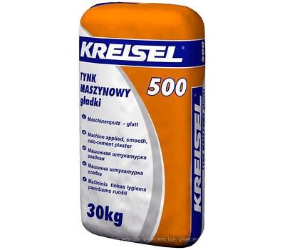 Штукатурка известково-цементная машинная Kreisel 500, 30кг