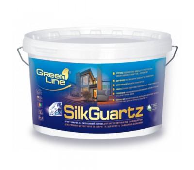 Грунтующая краска на силиконовой основе GREEN LINE «Silkguarz», 10л/15кг