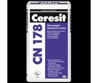 CERESIT СN-178 Легковыравнивающаяся смесь (15-80мм), 25кг