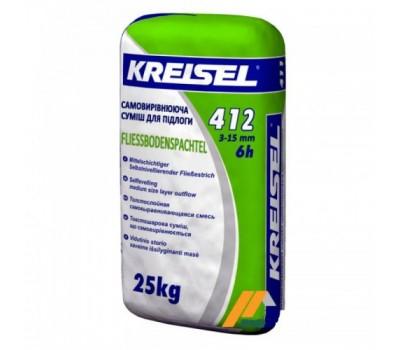 смесь для полов Самовыравнивающая 3-15мм Kreisel 412, 25кг