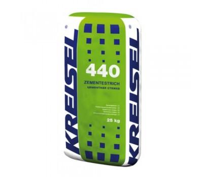 Цементная стяжка усиленная Kreisel 440, 25кг