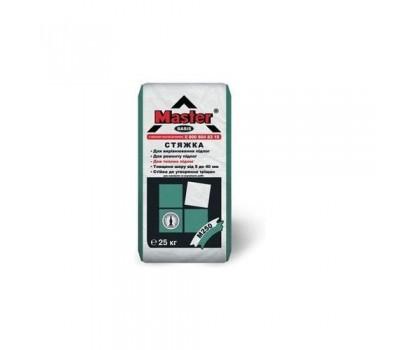 Стяжка цементная серая 5-100мм MASTER BASIS, 25кг