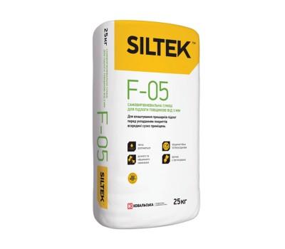Смесь самовыравнивающаяся для полов толщиной от 3мм SILTEK F-05, 25кг