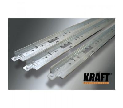KRAFT Профиль Fortis T-24 1200*25*24мм Ral (уп50шт)
