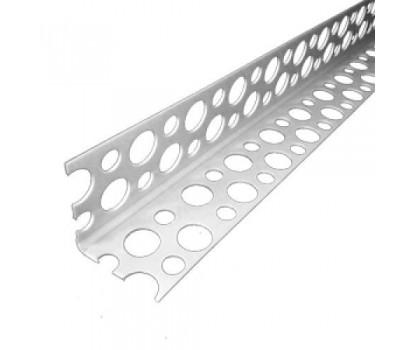 Профиль угловой перфорированный алюминиевый (0,30) 2,5м 20х20 Украина